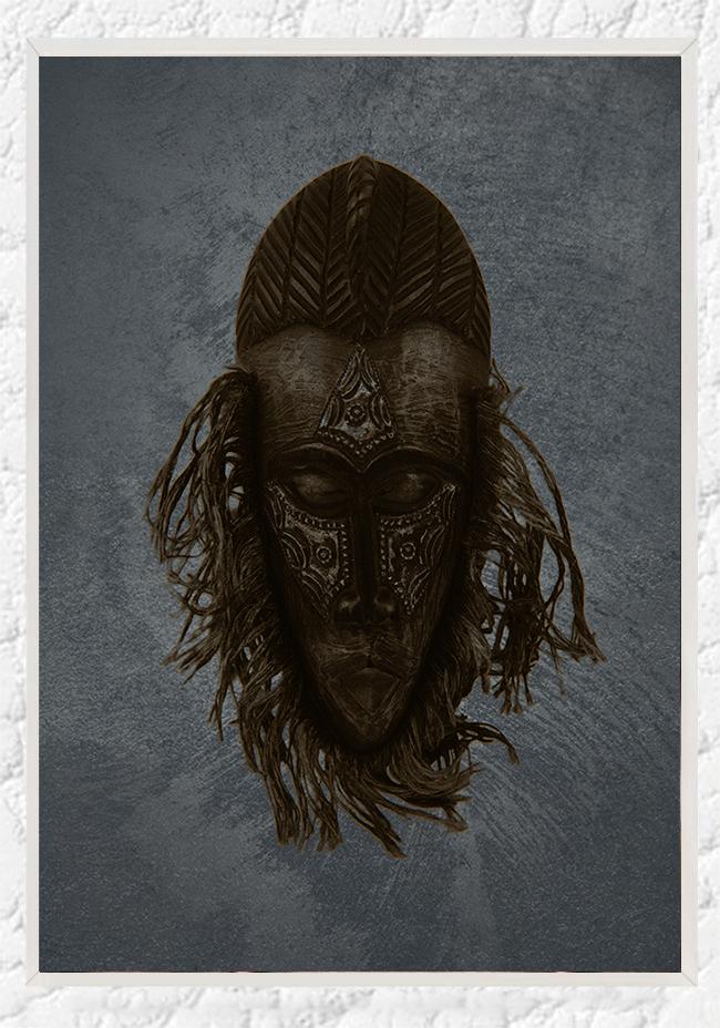 African mask II