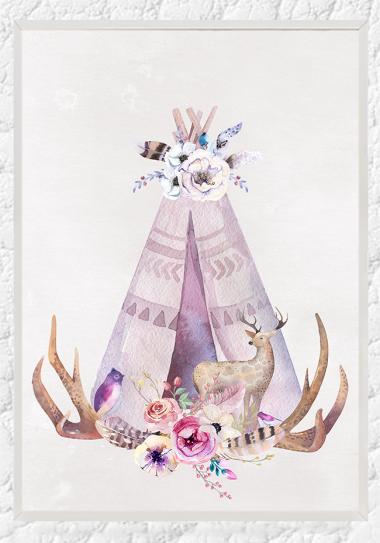 Floral Teepee